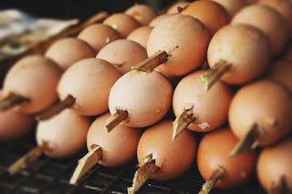 อาชีพเสริม ทำไข่ปิ้งทรงเครื่อง