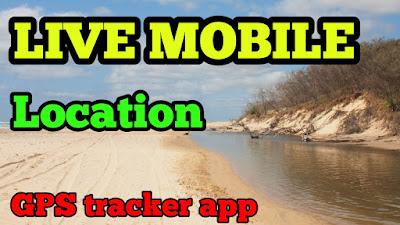 Live Mobile Location & GPS coordinates App