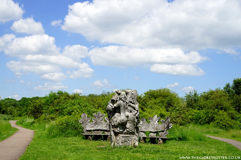 The Shrine - Lee Valley Sculpture Trail