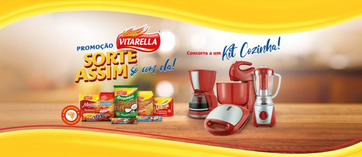 Promoção Vitarella 2021 Sorte Assim Só Com Ela - Kit Cozinha