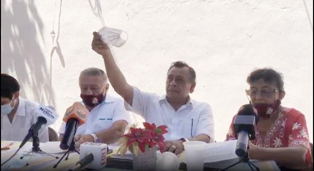 """""""Que se queden con sus priistas"""": renunciantes de Morena; se van a Fuerza por México"""