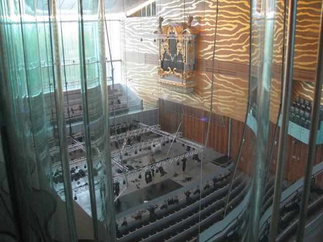 Vista da Sala de concertos da Casa da Música