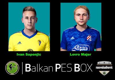 PES 2021 Faces Ivan Šaponjić & Lovro Majer by Rasovukadinovic