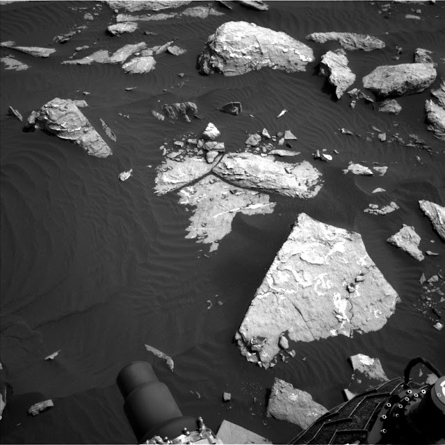 This image was taken by Navcam: Left B (NAV_LEFT_B) onboard NASA's Mars rover Curiosity on Sol 1516 Image Credit: NASA/JPL-Caltech