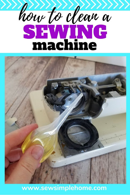 Learn how to clean a sewing machine the simple and effective way.