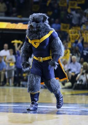 The grizzlies mascot