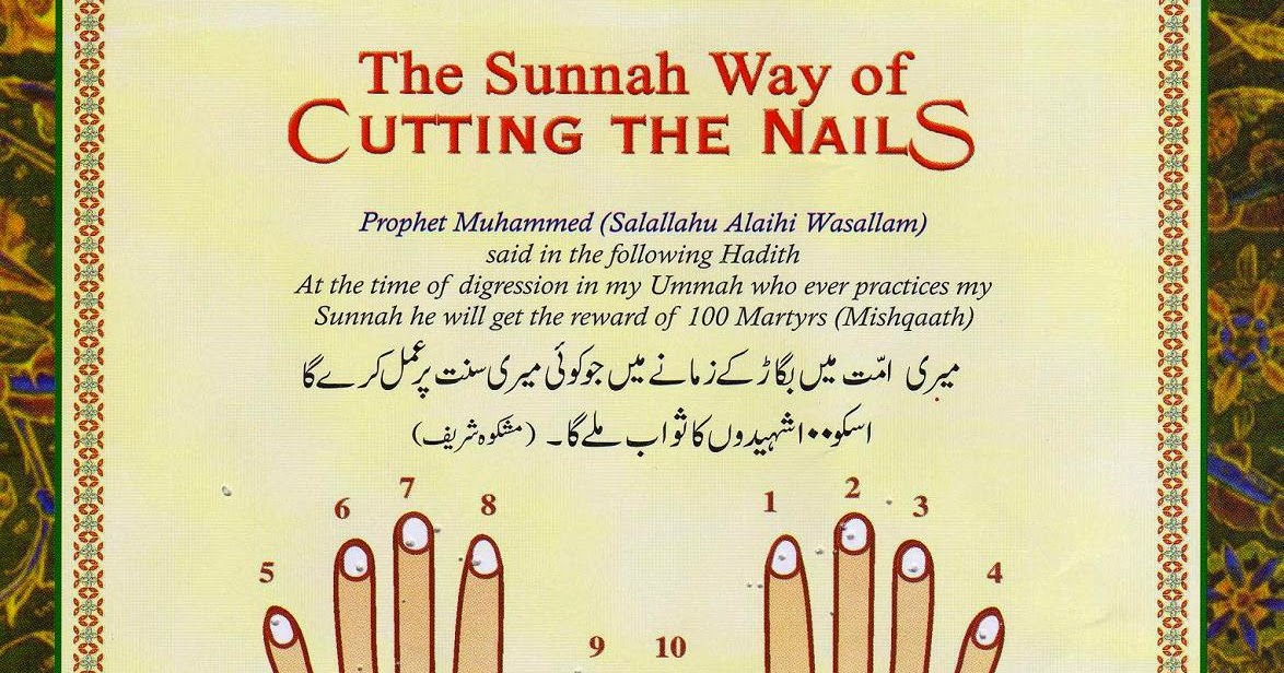 Islamic Disciplines: Cutting Nails (Sunnah)
