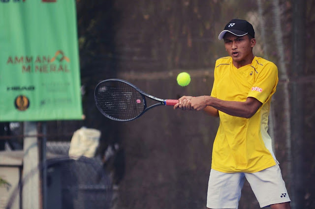 ITF Amman Mineral International Junior Championships 2019: Nauvaldo Tumbang