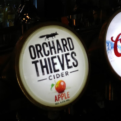 Orchard Thieves Cider on tap
