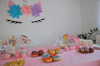 fiesta bonita de unicornio