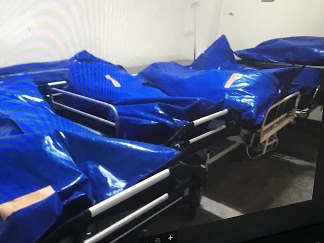 Συγκλονιστικό βίντεο ντοκουμέντο του MEGA από το νοσοκομείο του Βόλου με νεκρούς στοιβαγμένους εκτός ψυκτικών θαλάμων