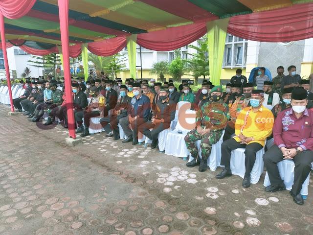 Kodim 0119  Ikuti  Hari Upacara HUT  Ke 16 Di Kabupaten Bener Meriah