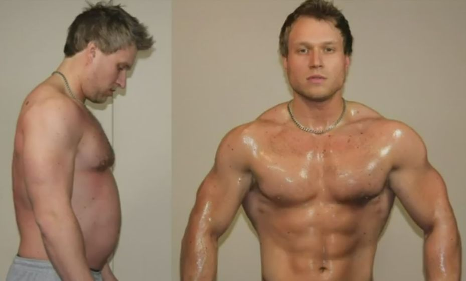 Weight Loss Before and After Image Trick