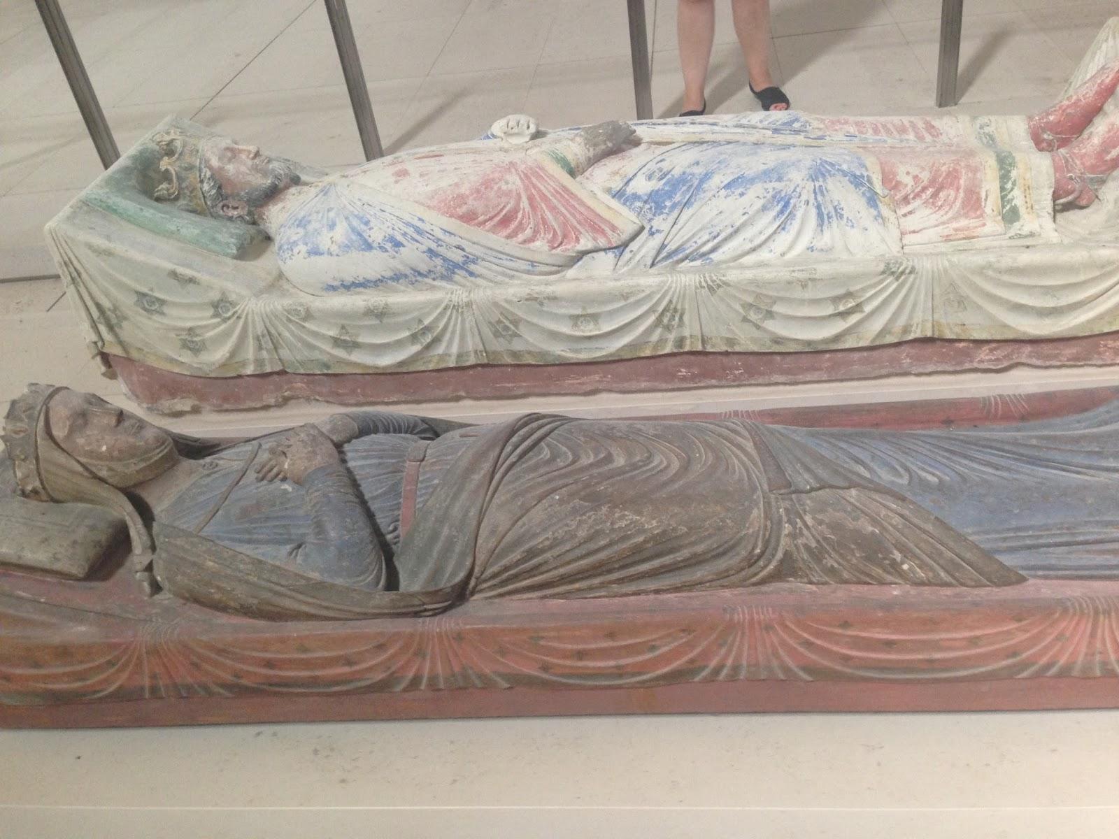 grobowiec Ryszarda Lwie Serce i Eleonory AKwitańskiej, opactwo w Fontevreud