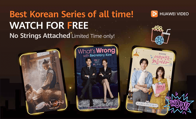 Huawei Video+ now has K-dramas with FREE access until October 18!