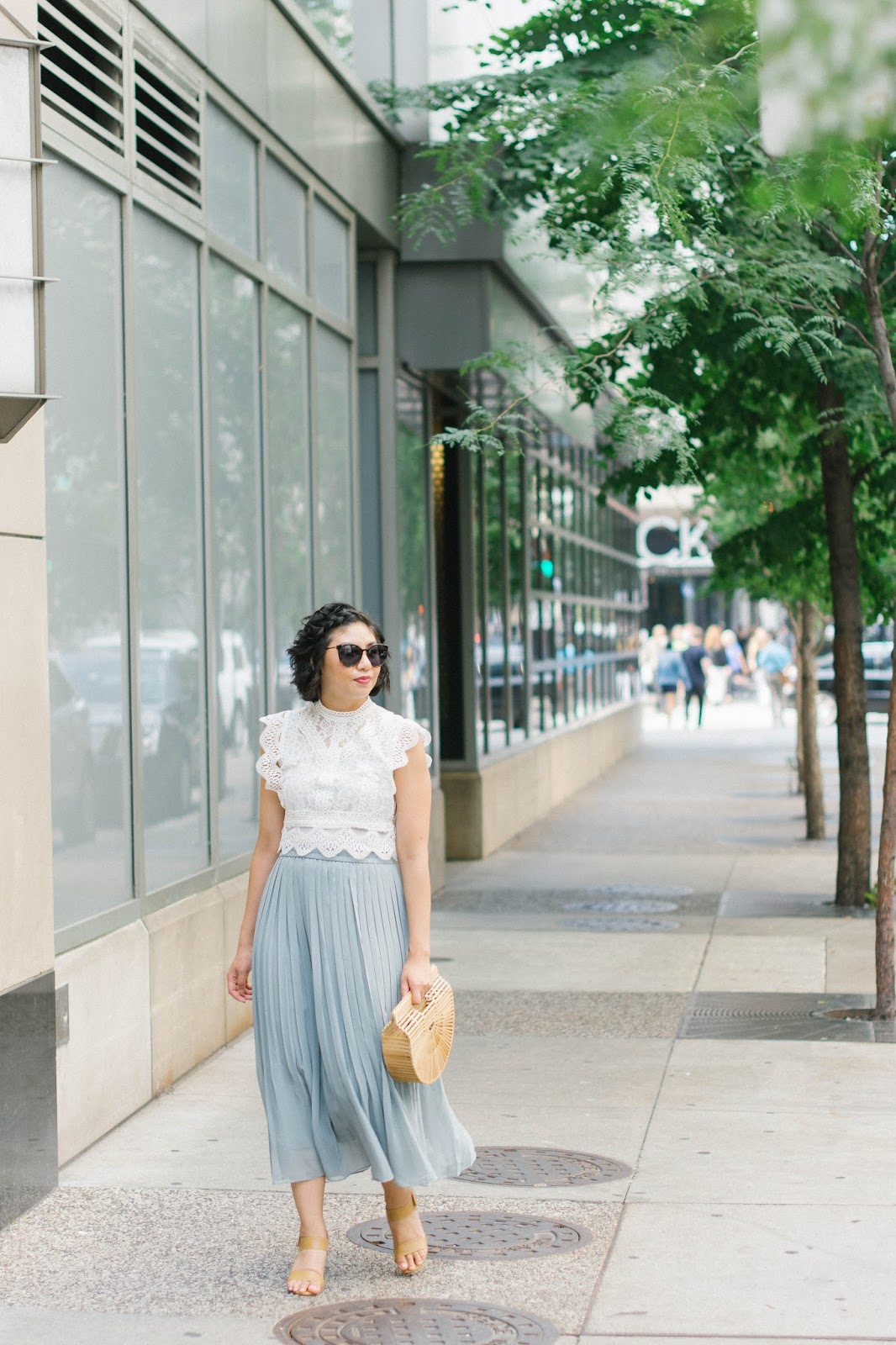 Three Different Way To Style A Lace Crop Top