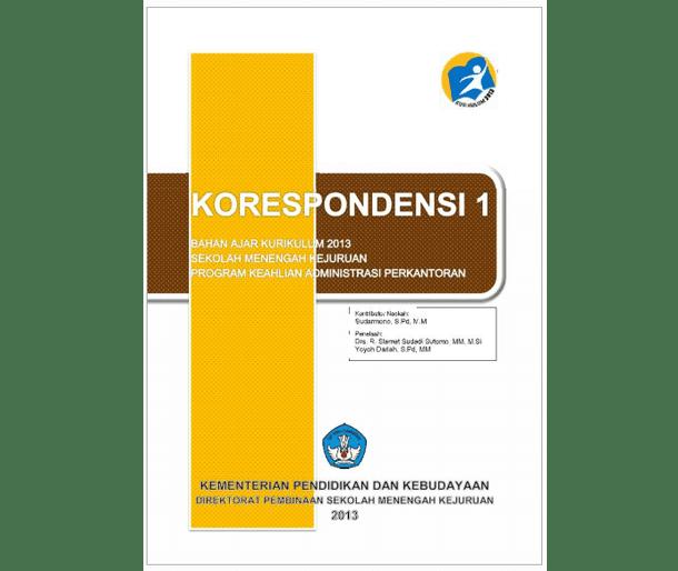 Buku Korespondensi SMK MAK Kurikulum 2013