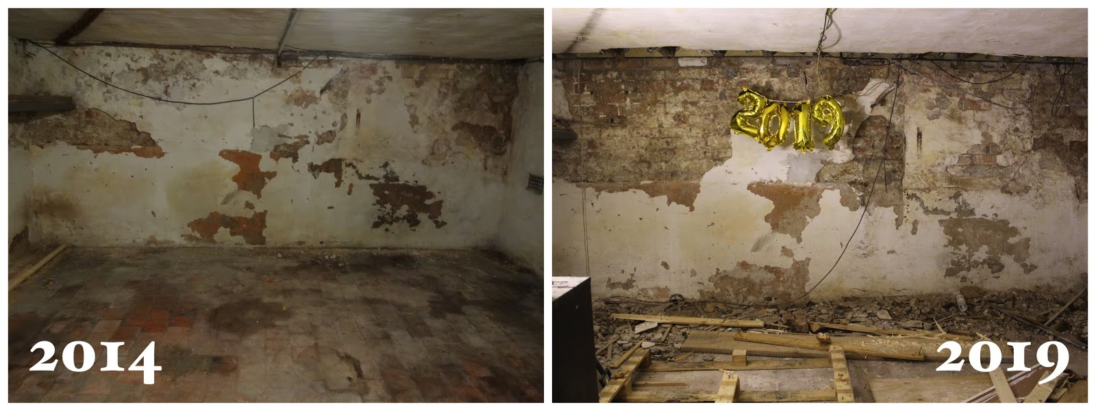 basement renovation before and after 5 years