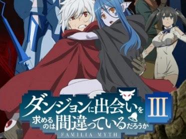 Danmachi Season 3 Episode 11 Subtitle Indonesia
