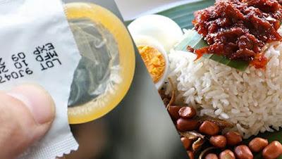 Asik! Malaysia Akan Produksi Kondom Rasa Nasi Lemak | liataja.com