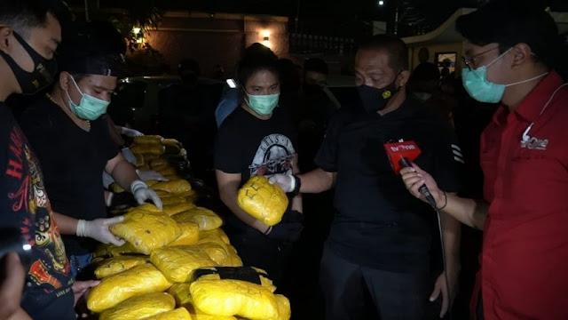 Polisi Tegaskan Sabu 201 Kg di Petamburan Tak Ada Kaitan dengan FPI