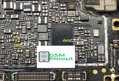 Vivo V15 Pro PD1832F ISP (EMMC) Pinout For EMMC Programming Flashing And Remove FRP Lock
