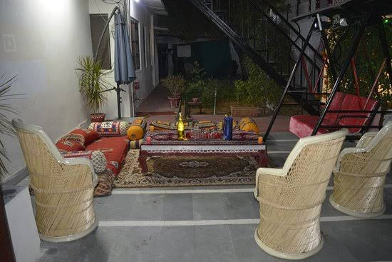 New year celebration at home doing rest