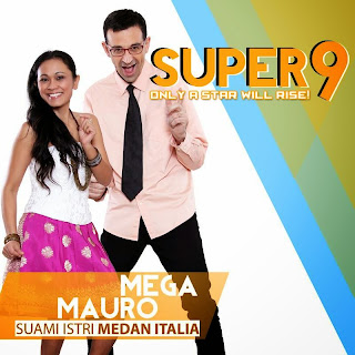 mega mauro rising star indonesia super 9