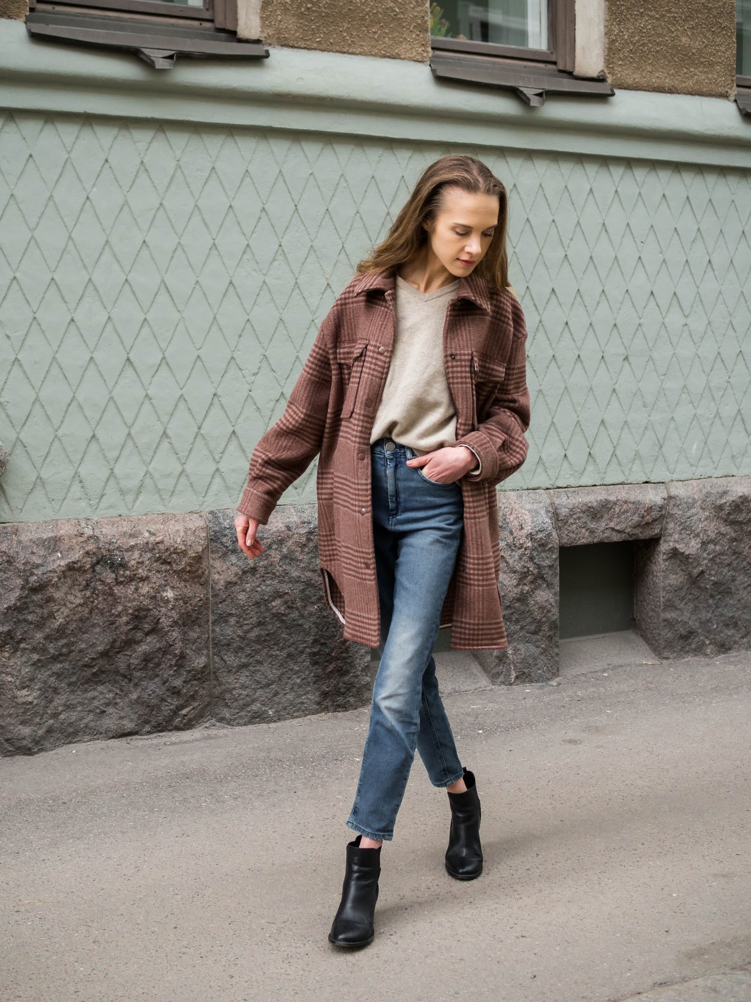 Kuinka stailata paitatakki, asuinspiraatio // How to style a shacket, outfit inspiration