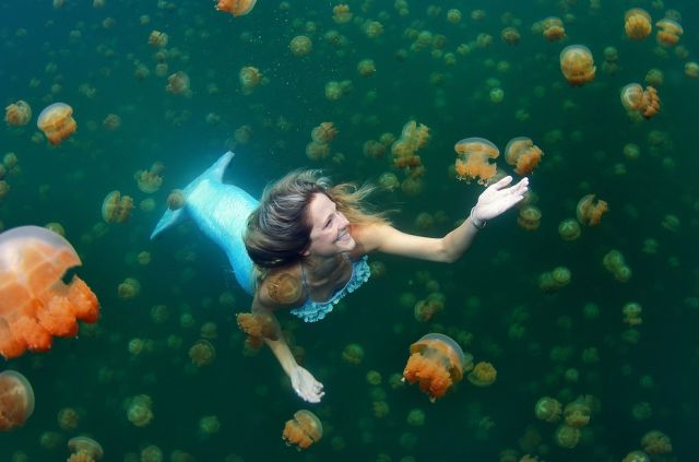 Real-Life Professional Mermaid (11 Pics)