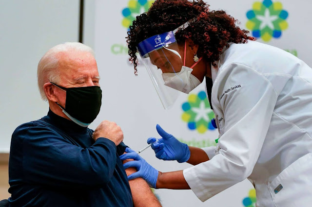 """Joe Biden receives coronavirus vaccine live on TV to reassure its safety"""