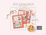 January to June mini catalogue