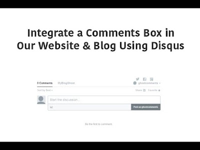 How to Add a comments box in Your website & blog Sinhalen