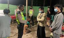 Sat Sabhara Polres Ketapang Lakukan Cipkon di Pilkades Serentak, dan Sambengi Kantor Desa Sukabangun