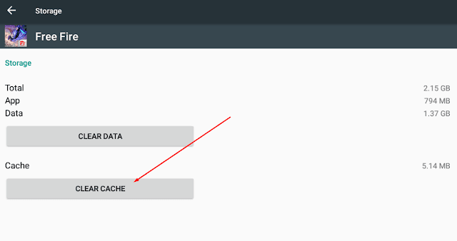 Cara mudah menghapus cache Free Fire agar FF Tidak Lag