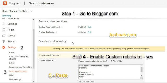 cara mengirim halaman peta situs