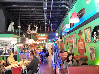 The Friendly Toast in Portsmouth New Hampshire is a funky, hip restaurant w/ great food!