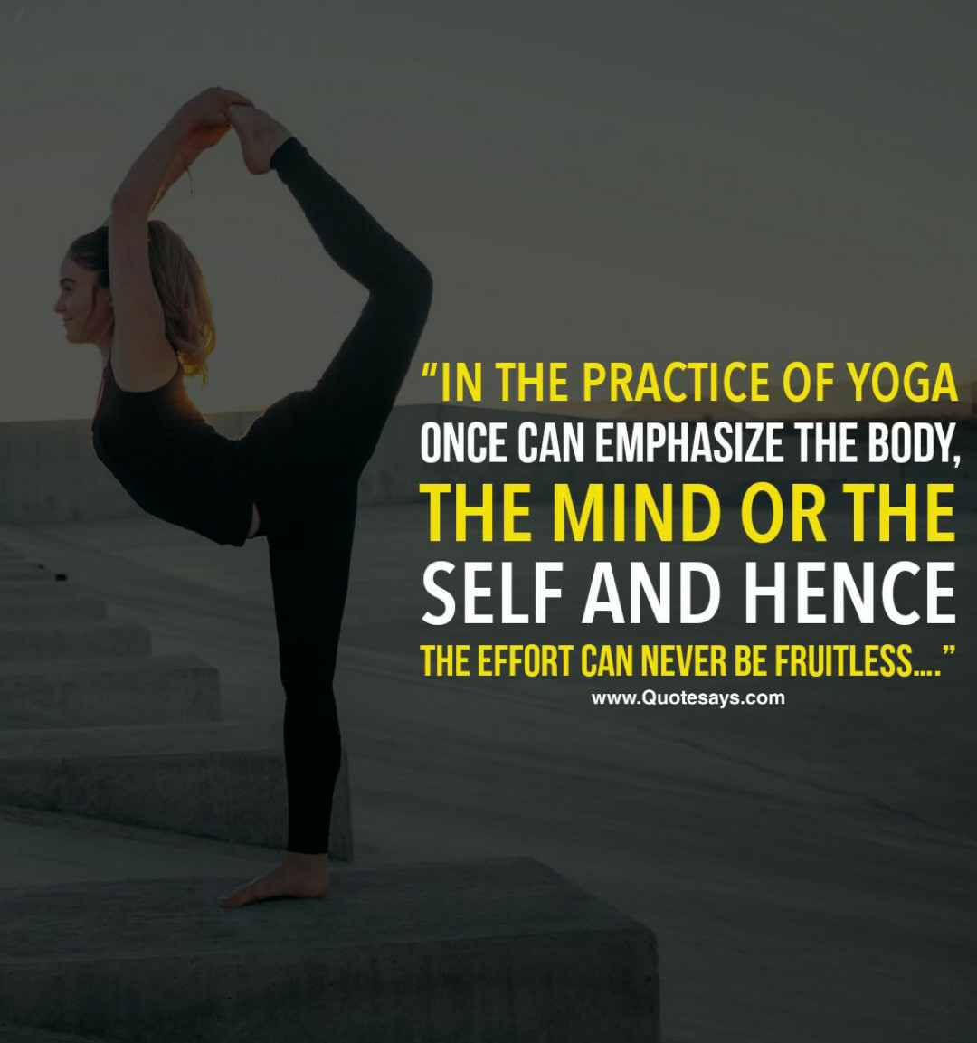 Yoga quotes, inspirational yoga quotes