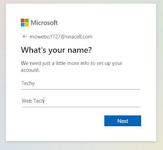 Enter your name
