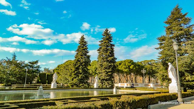 Jardins de Sabatini, Madri, Espanha