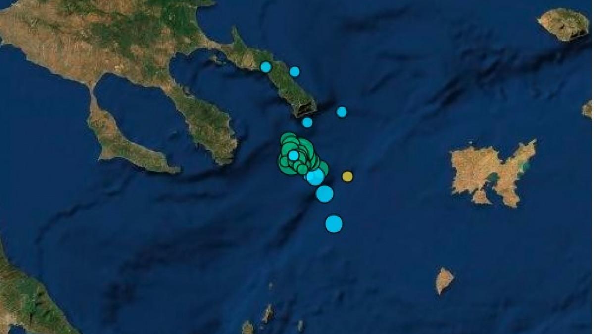 Νέος ισχυρός σεισμός στο Άγιον Όρος - Αισθητός στην Ξάνθη