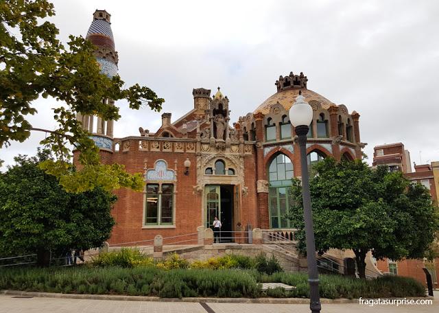 Pavilhão do Hospital Sant Pau, Barcelona