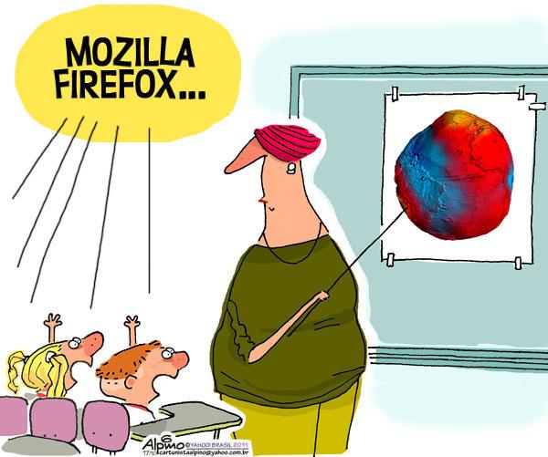 A Firefox e o Novo Geóide