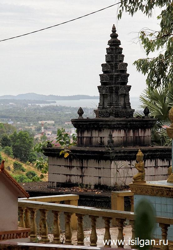 Храм Ват Леу. Город Сиануквиль. Камбоджа