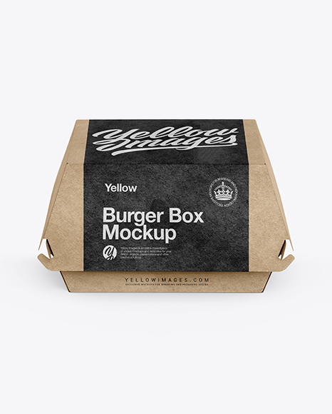 Download Burger Mockup Psd Yellowimages