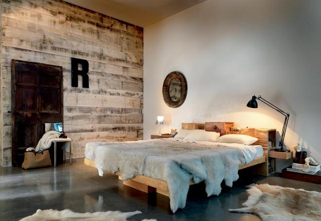 phòng ngủ Vintage đẹp ấn tượng với gam màu trắng.