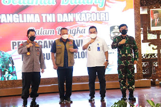 Panglima TNI Dan Kapolri Ingatkan Forkopimda Blora Waspadai