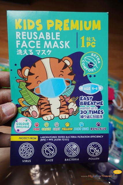 Kids Premium Reusable Face Mask
