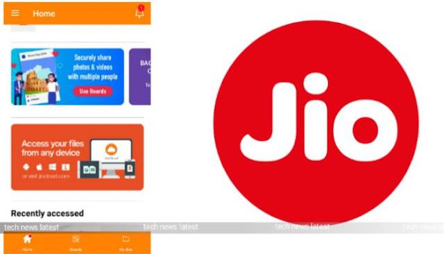 Reliance Jio Latest News My Jio App Update 2019 Jio Cloud Integration My Jio App