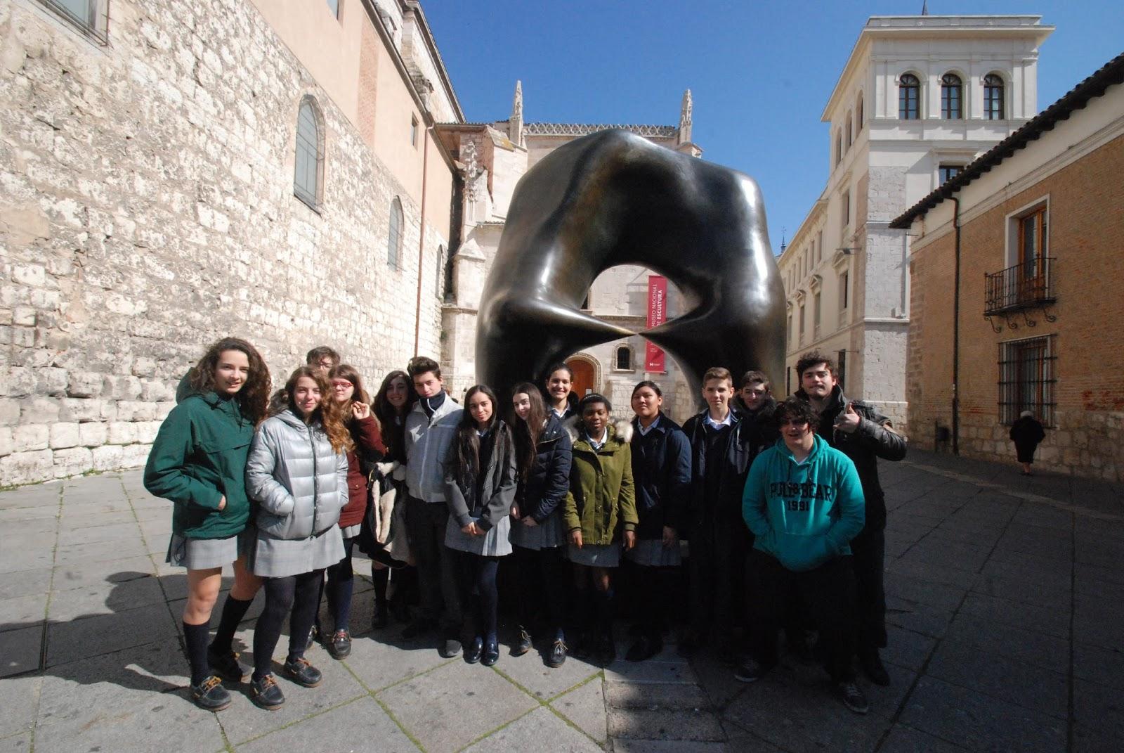 Agustinas Valladolid - 2017 - ESO 4 - Exposicion Henry Moore 2
